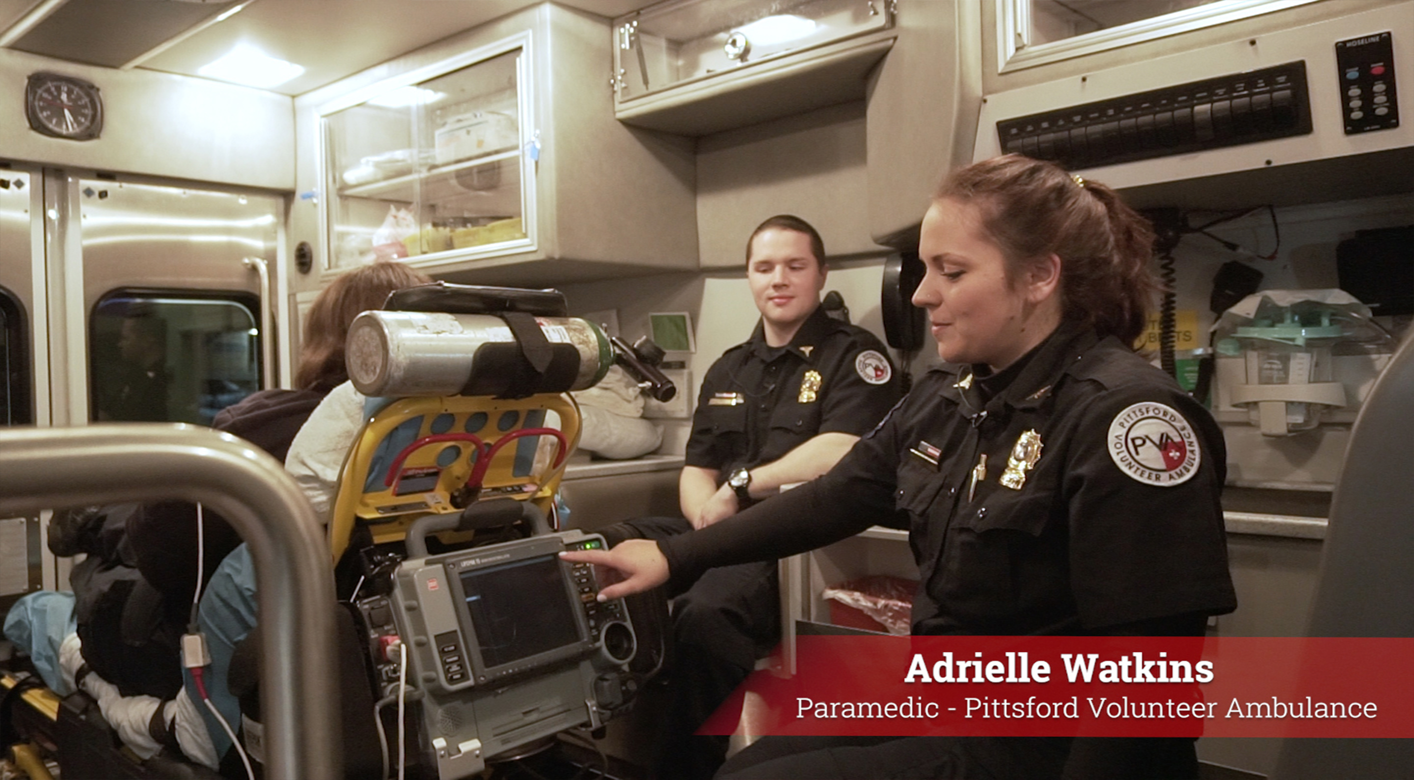Virtual Ambulance Tour - Part 3, EKG Compartment