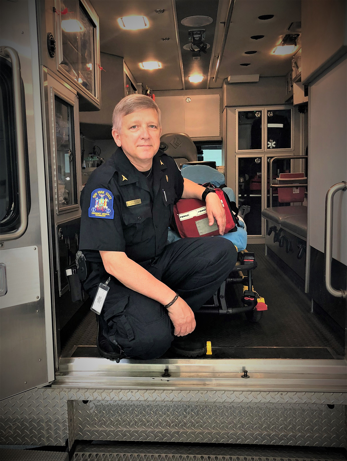 EMS Week 2020: PVA Member Showcase with EMT Paul Petrino