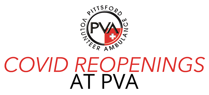 COVID-19 Reopenings at PVA